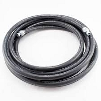 25ft Black Fluid Hose with 72-1683  Connector