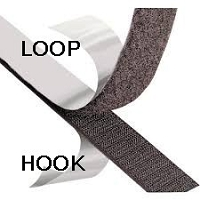 Hook And Loop Black Or White Self Adhesive