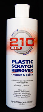 210 Plus Plastic Scratch Remover & Cleaner/Polish