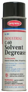 C60 Sprayway Solvent Cleaner/Degreaser