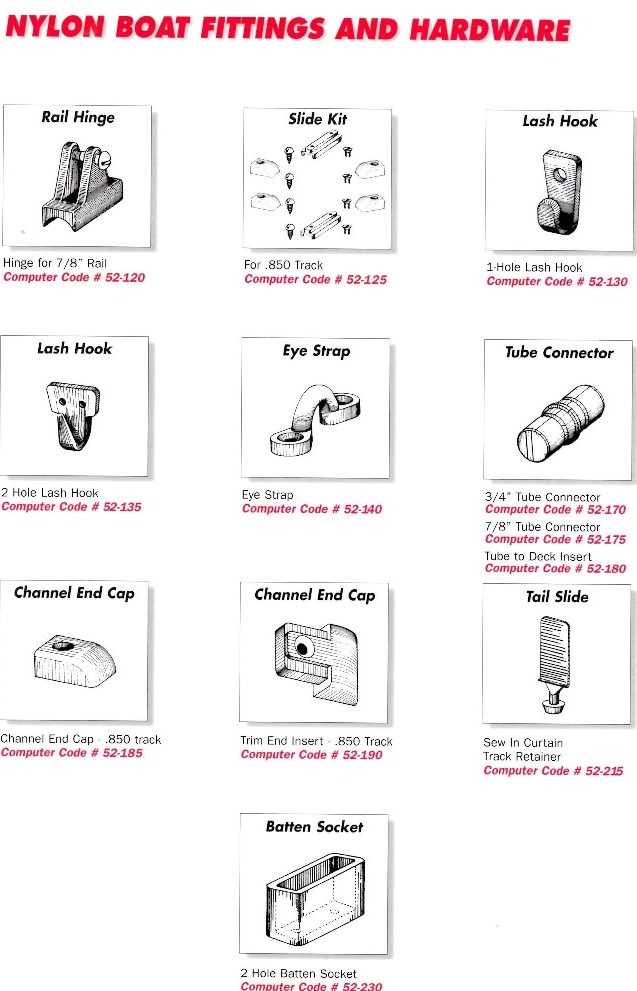Marine Fittings Plastic