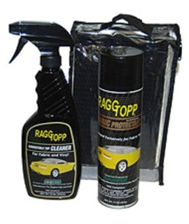 Raggtopp CLOTH Convertible Top Cleaner & Protectant Kit