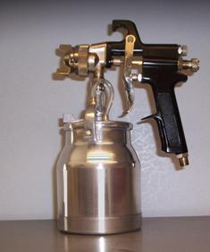 Zpro Spray Gun W/1 Quart Dripless Cup