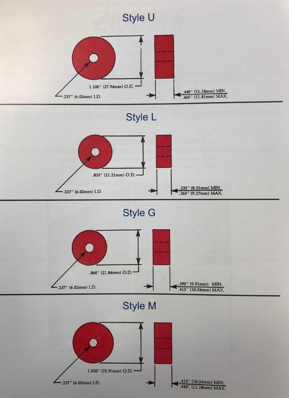 Bobbin Size Diagram