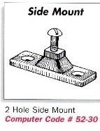 2-Hole Side Mount