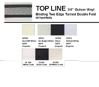 TOP LINE OUTDOOR VINYL 3/4