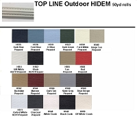 TOP LINE OUTDOOR VINYL HIDEM