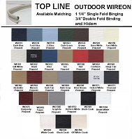 TOP LINE OUTDOOR VINYL WIREON