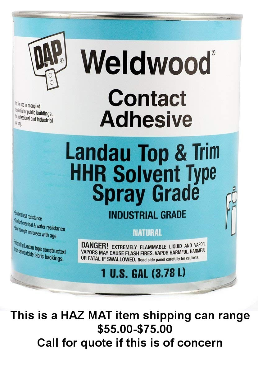 Dap Weldwood Adhesive Glue****ONE GALLON CAN***