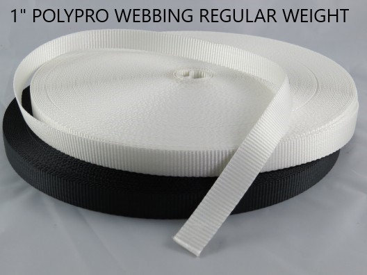 "1"" REGULAR WEIGHT Polypro Webbing"