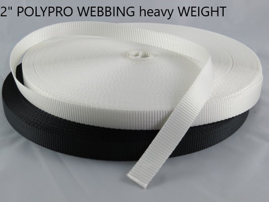 "2"" HEAVY WEIGHT Polypro Webbing"