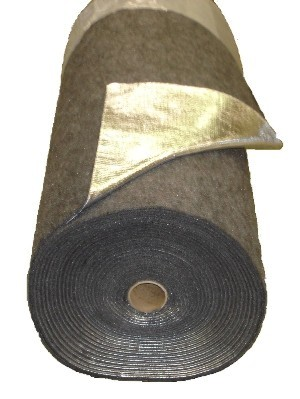 "Thermozite Foil Jute 48"" Wide 3/8"" Thick"