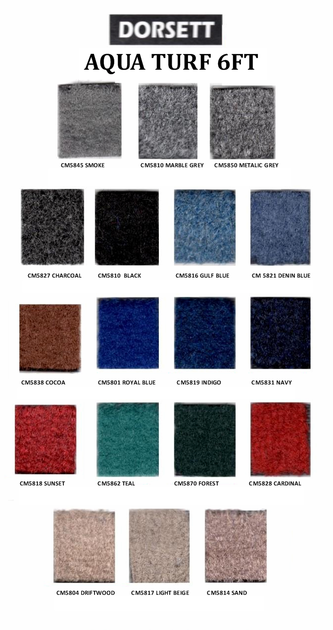 Aquaturf Marine Carpet - 6Ft