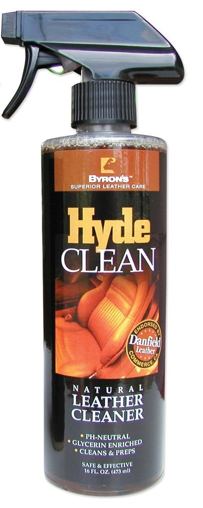 Byron'S Hide Clean Leather Cleaner 16Oz