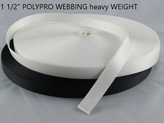 "1-1/2"" HEAVY WEIGHT Polypro Webbing"